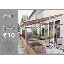 Darčeková poukážka €10