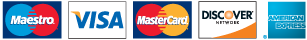 Logo: Allowed payment bank cards